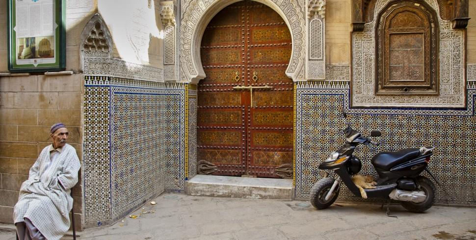 1000 i jedne drzwi marokańskiej mediny